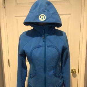 Lululemon scuba hoodie size 8 Blue